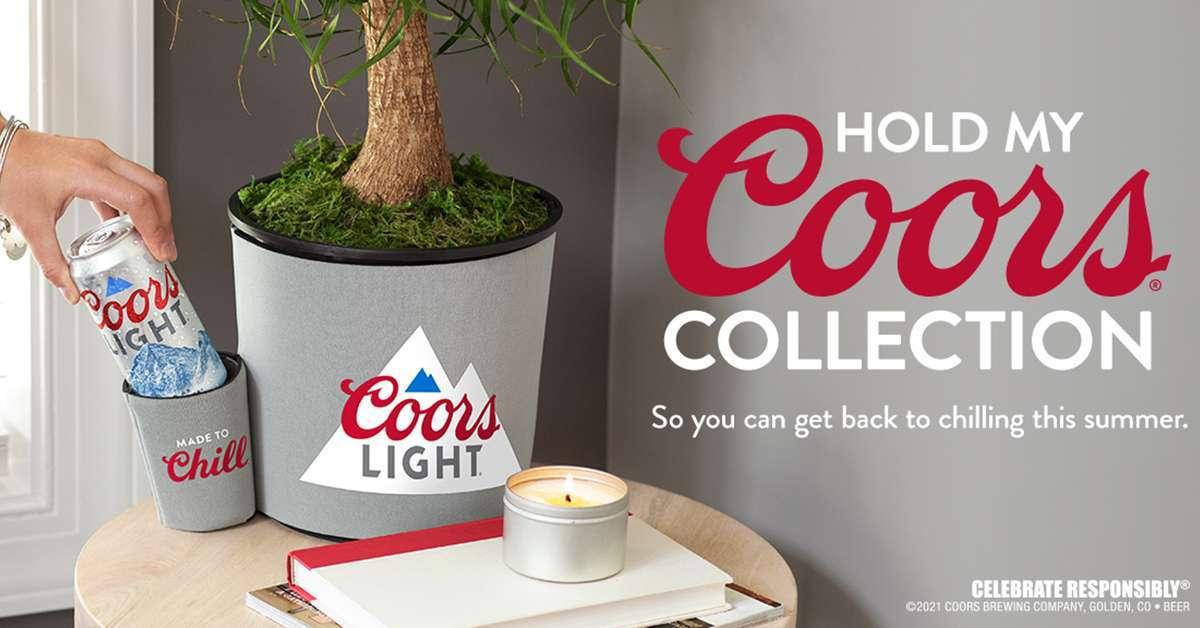 coors light hold my beer