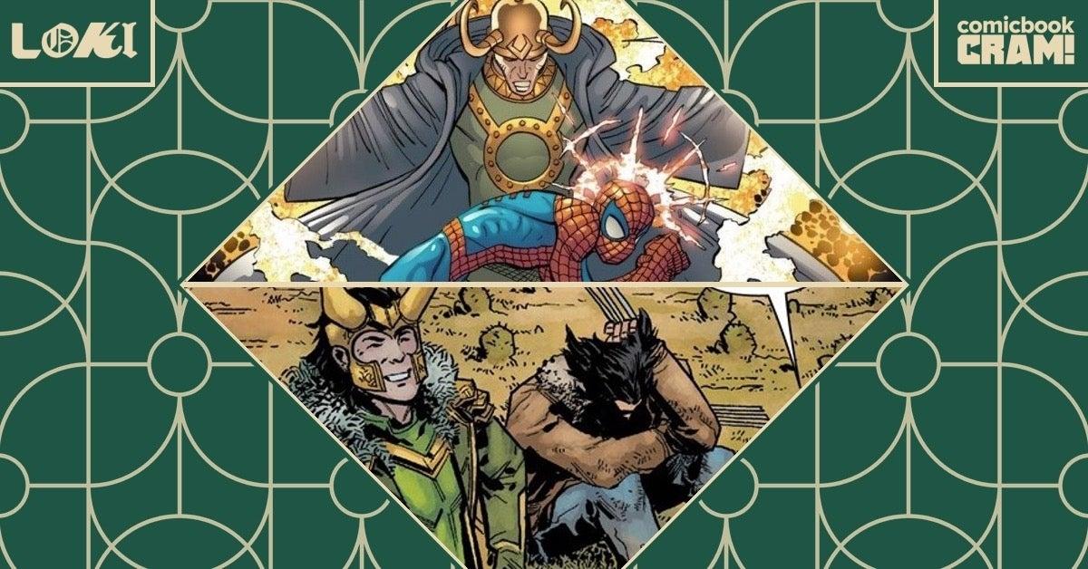 CRAM Loki Marvel Team Ups