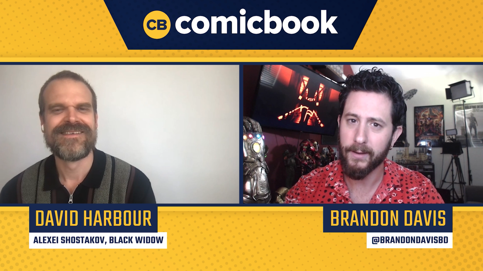 David Harbour Talks Black Widow - Exclusive Comicbook Interview