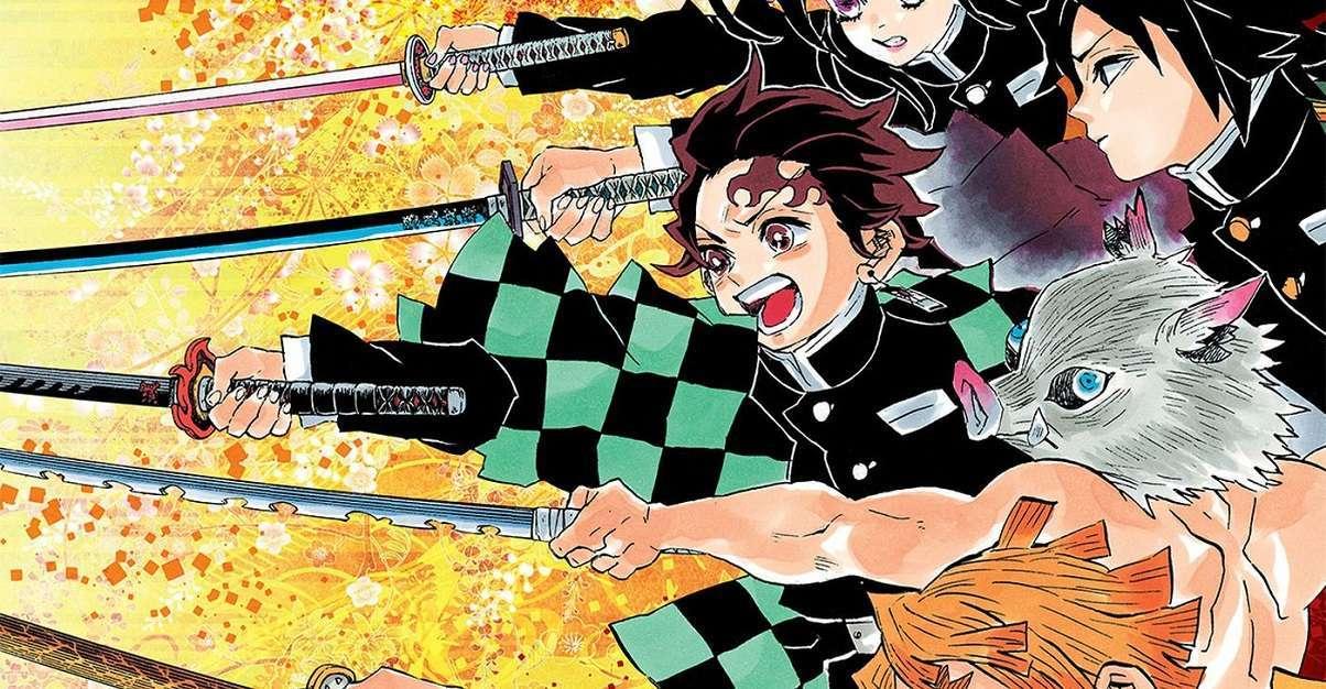 Demon Slayer Manga Complete Box Set