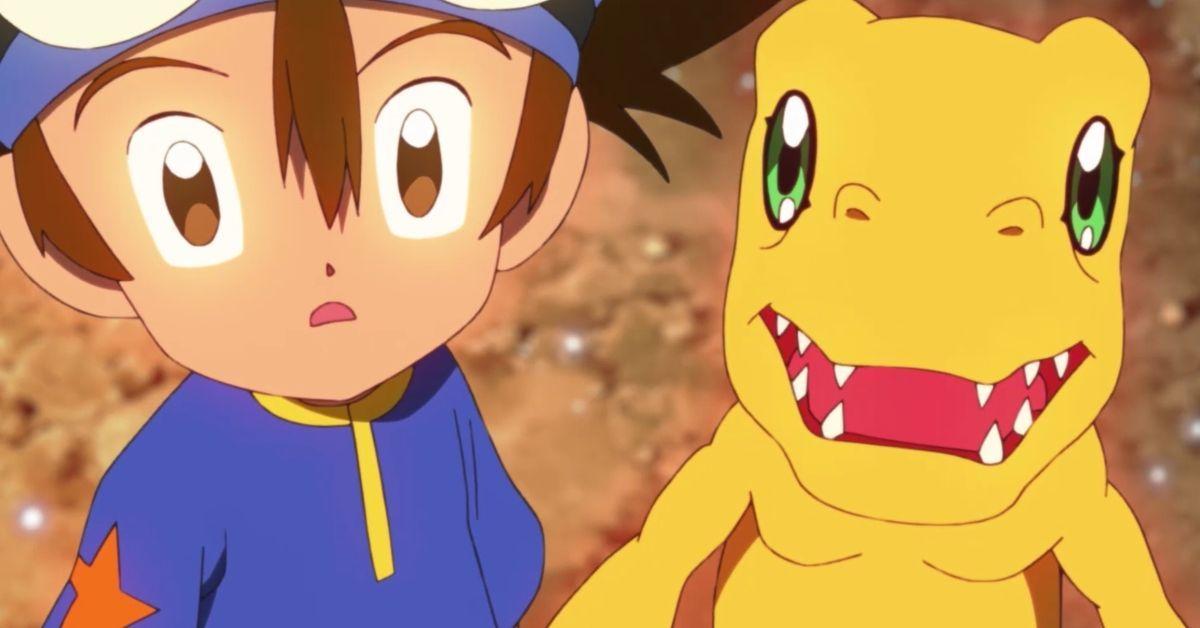 Digimon Adventure 2020 Tai Agumon Shocked