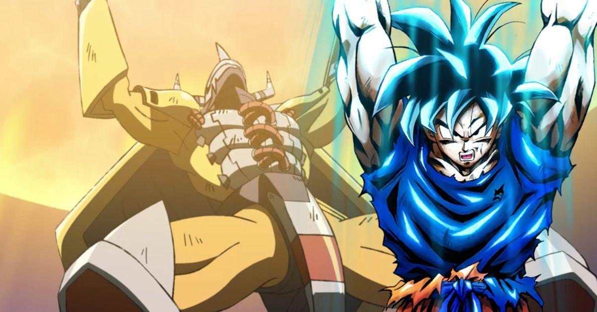 Digimon Adventure WarGreymon Gaia Force Dragon Ball Goku Spirit Bomb