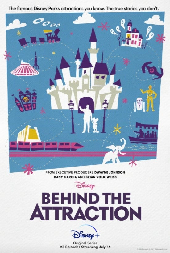 Disney Behind the Attraction poster