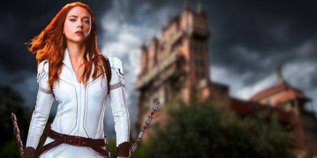 Disney Tower of Terror Movie Scarlett Johansson
