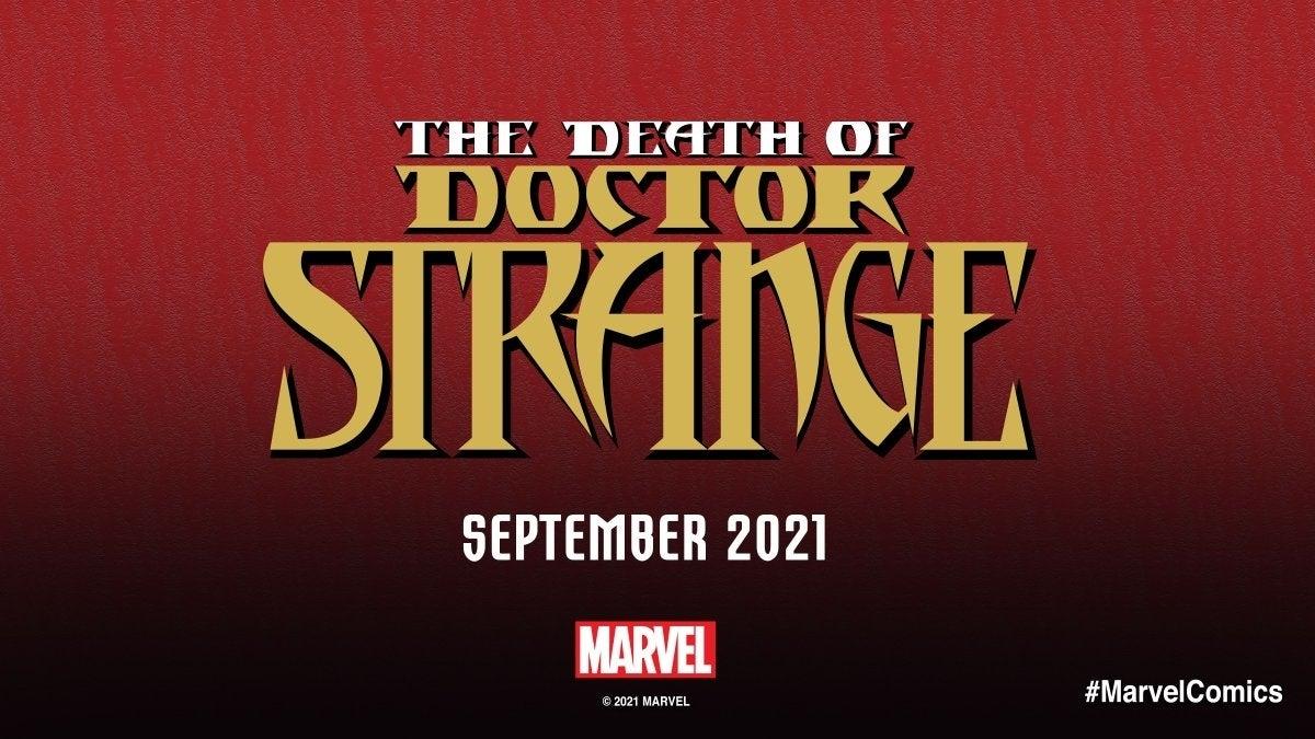 dr strange death
