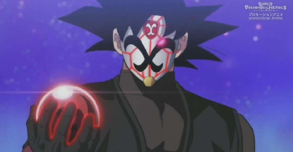Dragon Ball Heroes Goku Black