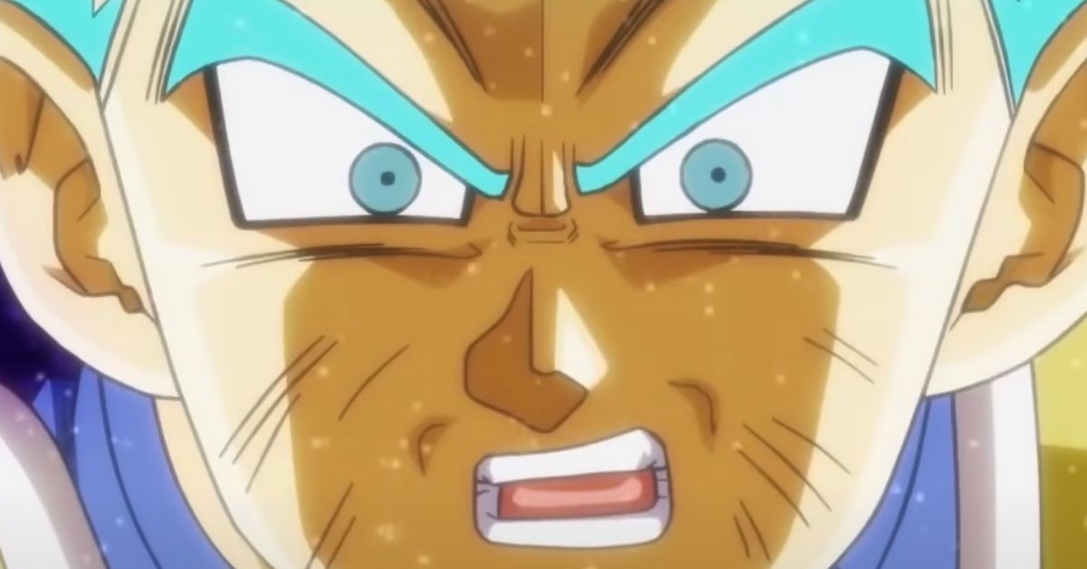 Dragon Ball Heroes Vegeta Shocked