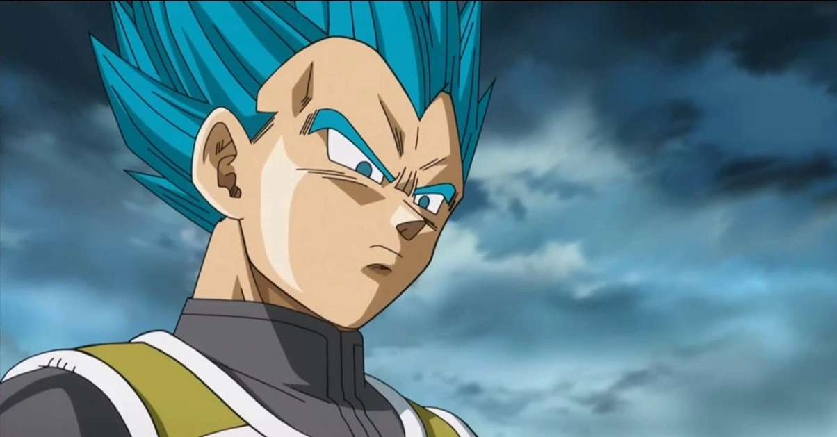 Dragon Ball Super Vegeta Blue Bust