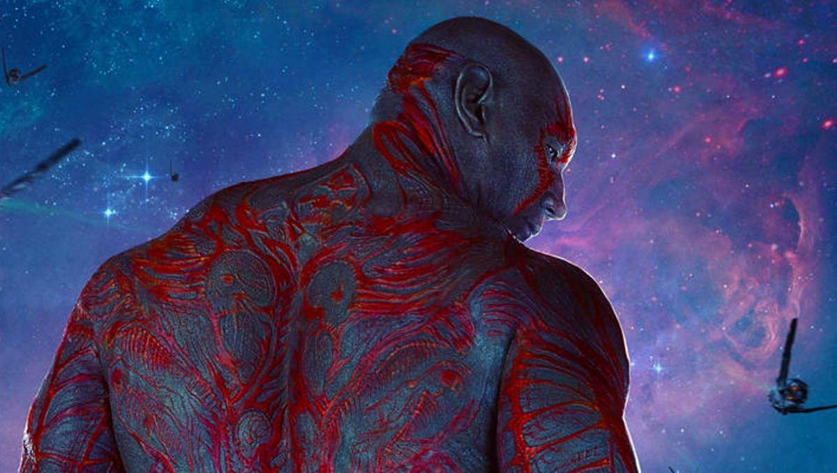 Drax Marvel Guardians of the Galaxy Dave Bautista