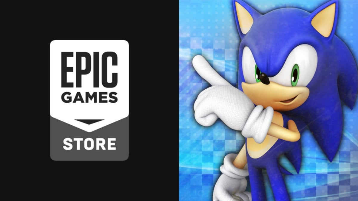 Epic Games Store Sonic