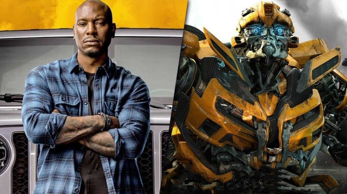 f9 fast and furious tyrese bumblebee transformers