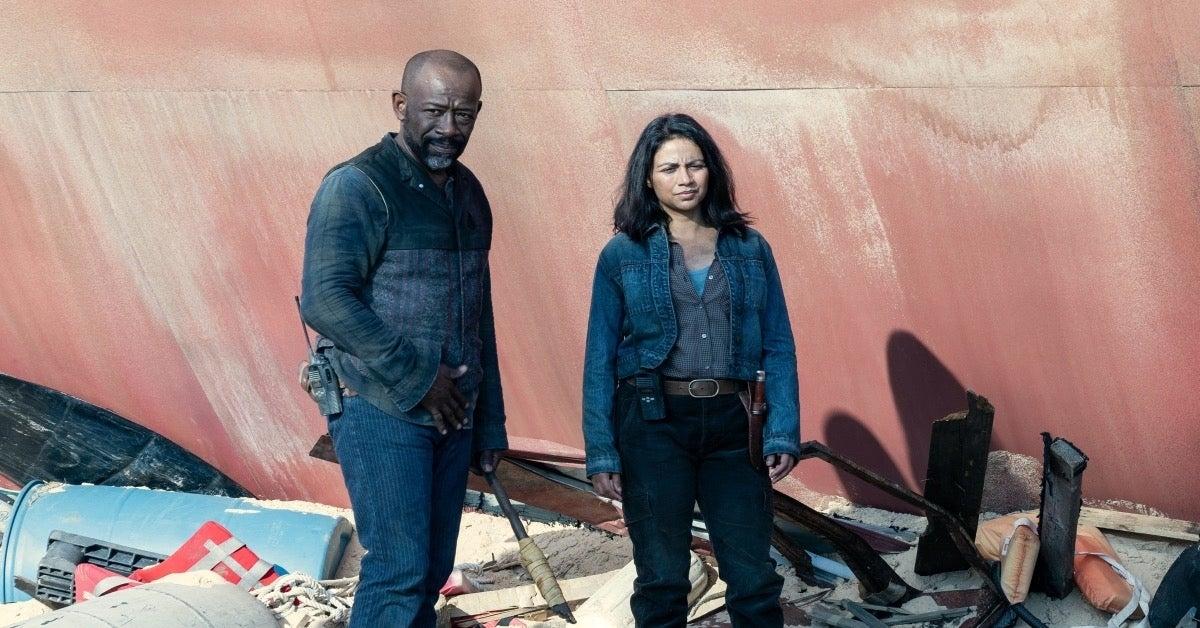 Fear the Walking Dead 616 The Beginning Season 6 Finale Grace Morgan