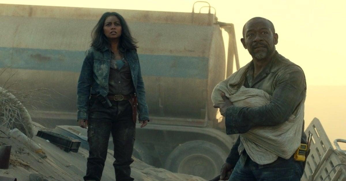 Fear the Walking Dead Season 6 finale Morgan Grace