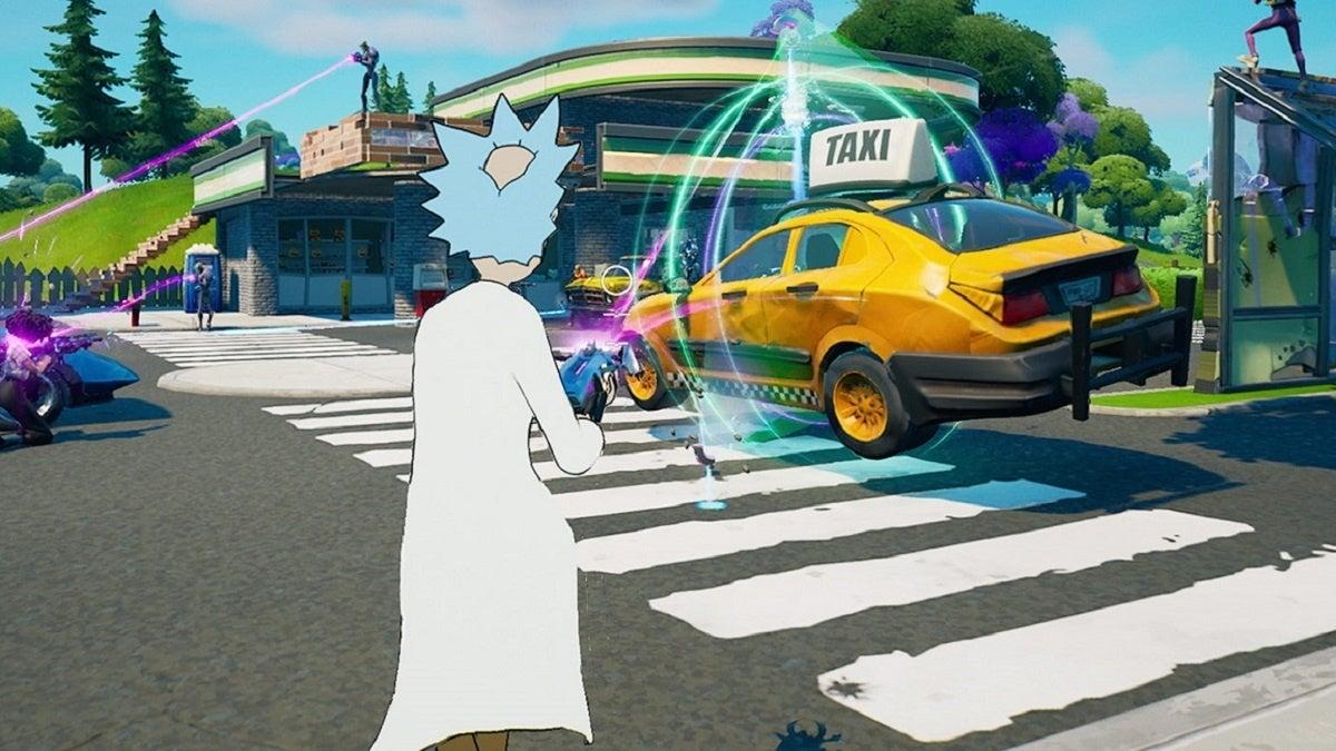 Fortnite Rick and Morty