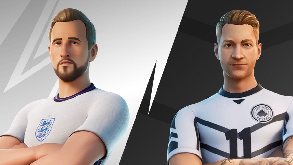 fortnite soccer skins kane reus new cropped hed