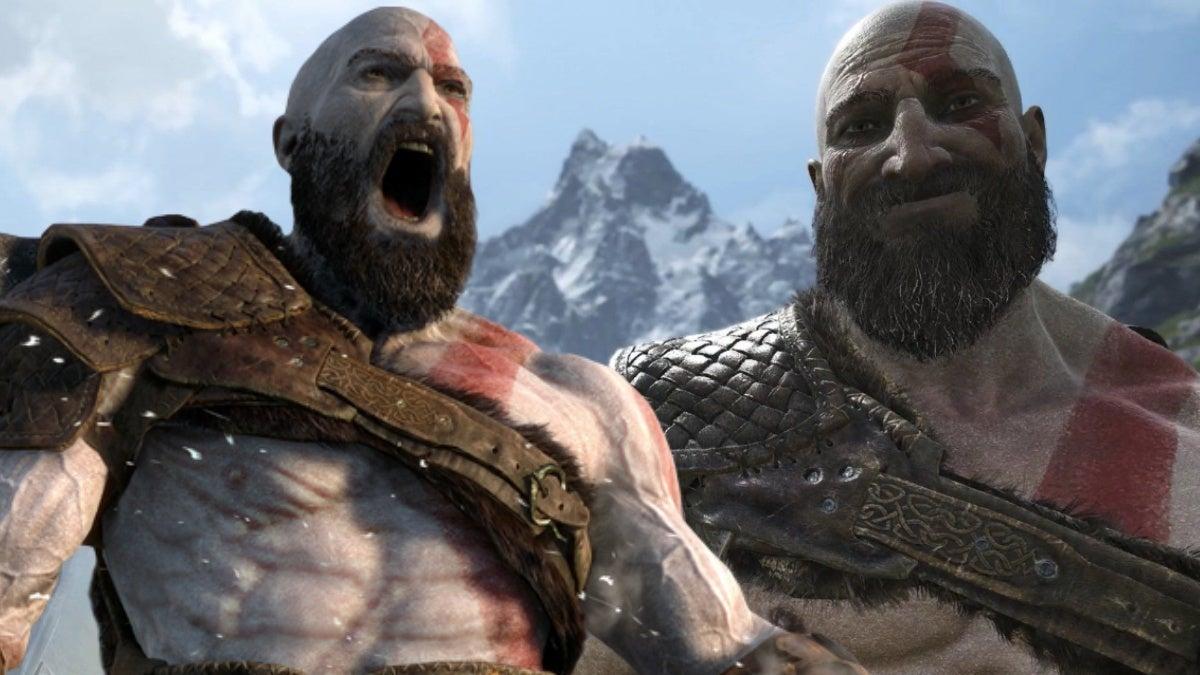 god of war kratos reactions