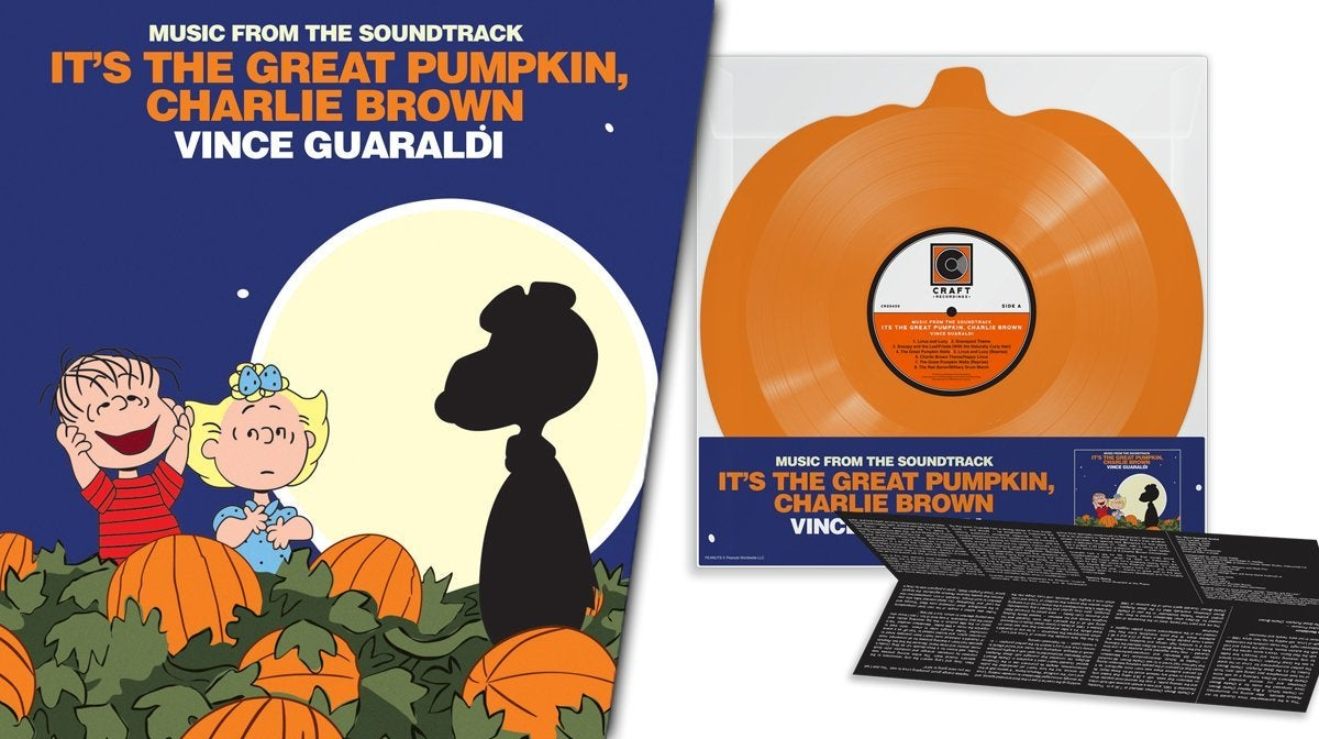great pumpkin charlie brown record vinyl halloween