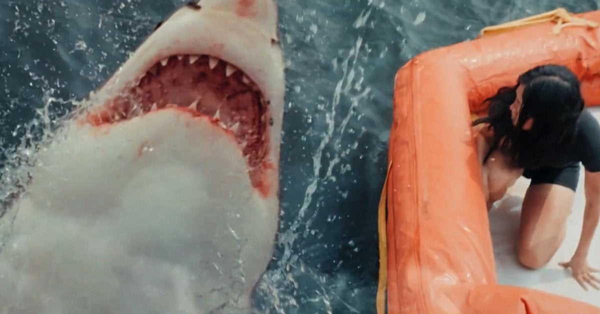 great white movie 2021 shark trailer teaser