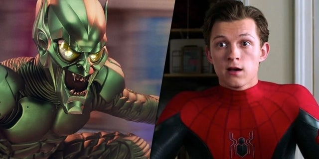 green goblin peter parker