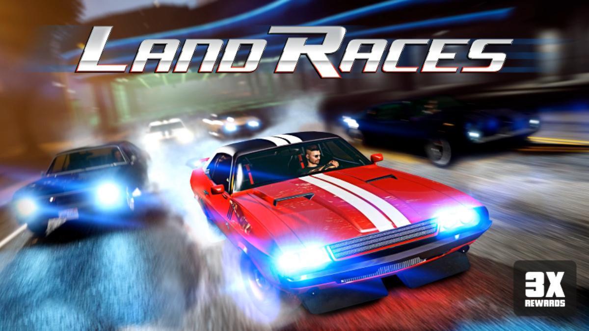 GTA Online Land Races