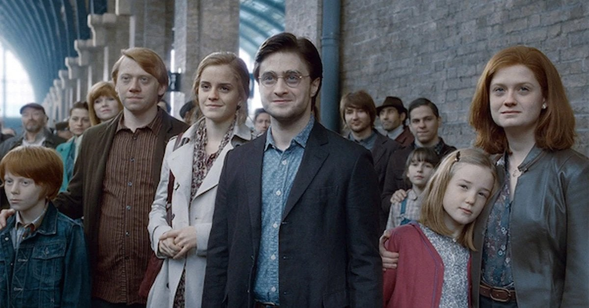 harry potter deathly hallows epilogue scene