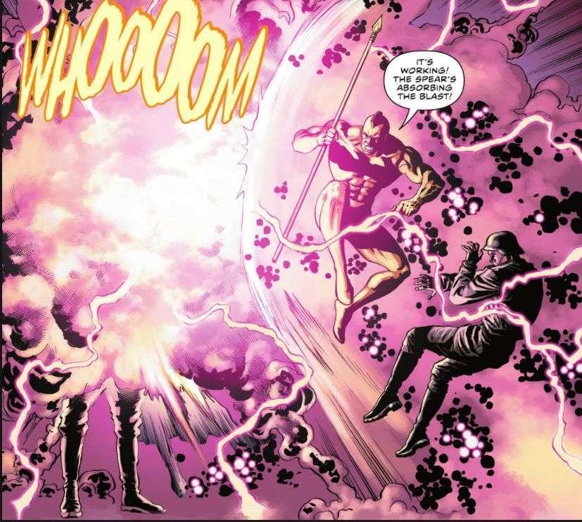hitler explodes the flash