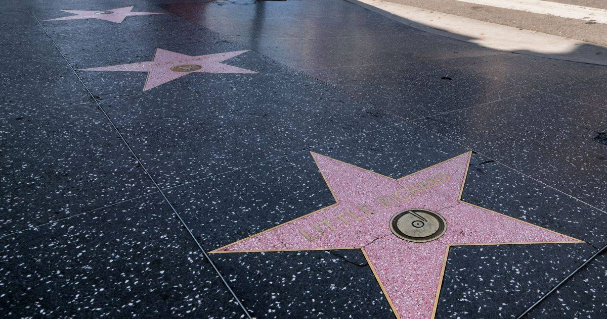 hollywood walk of fame 2022 carrie fisher norman reedus