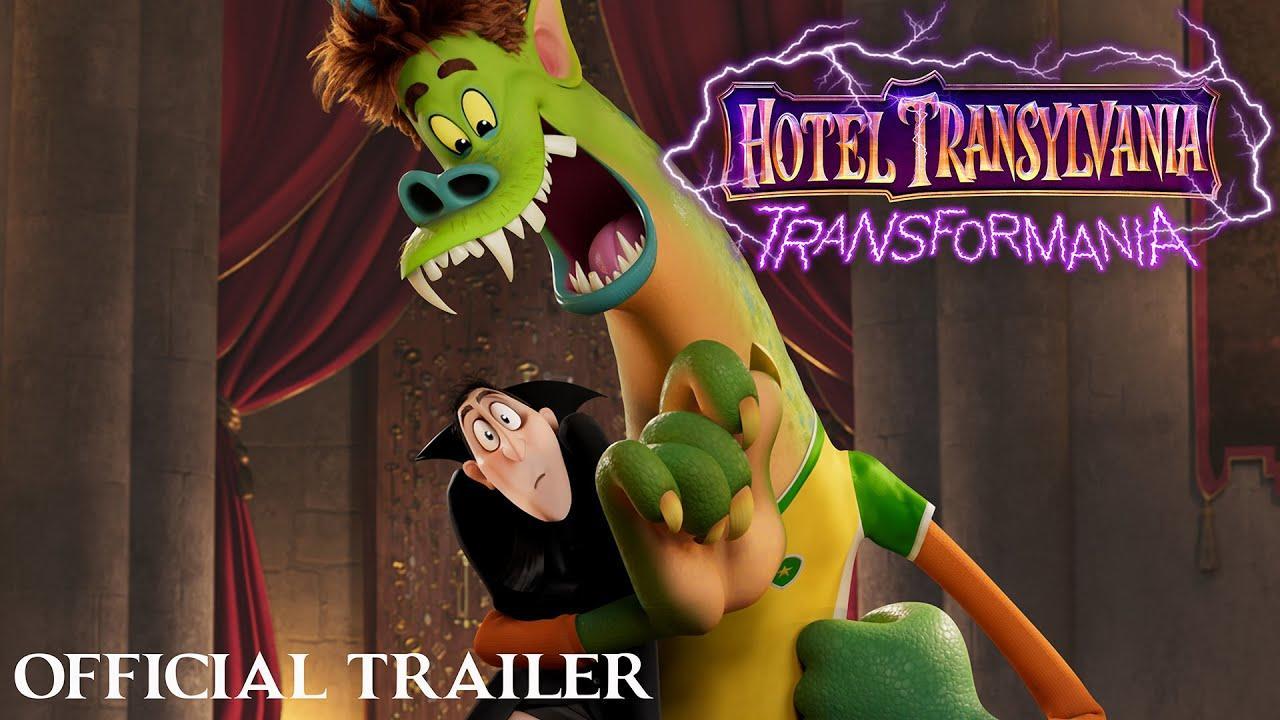 Hotel Transylvania: Transformania Official Trailer