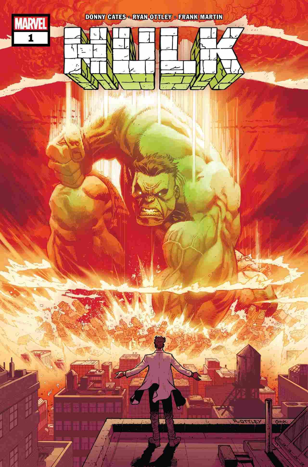 Hulk #1 2021 Cover