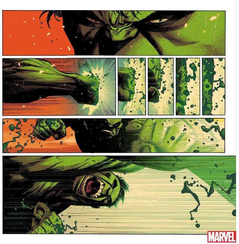 Hulk #1 2021 Preview