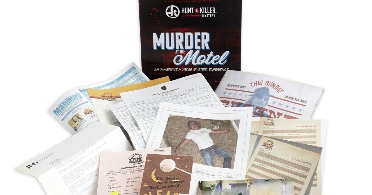 hunt a killer retail game header