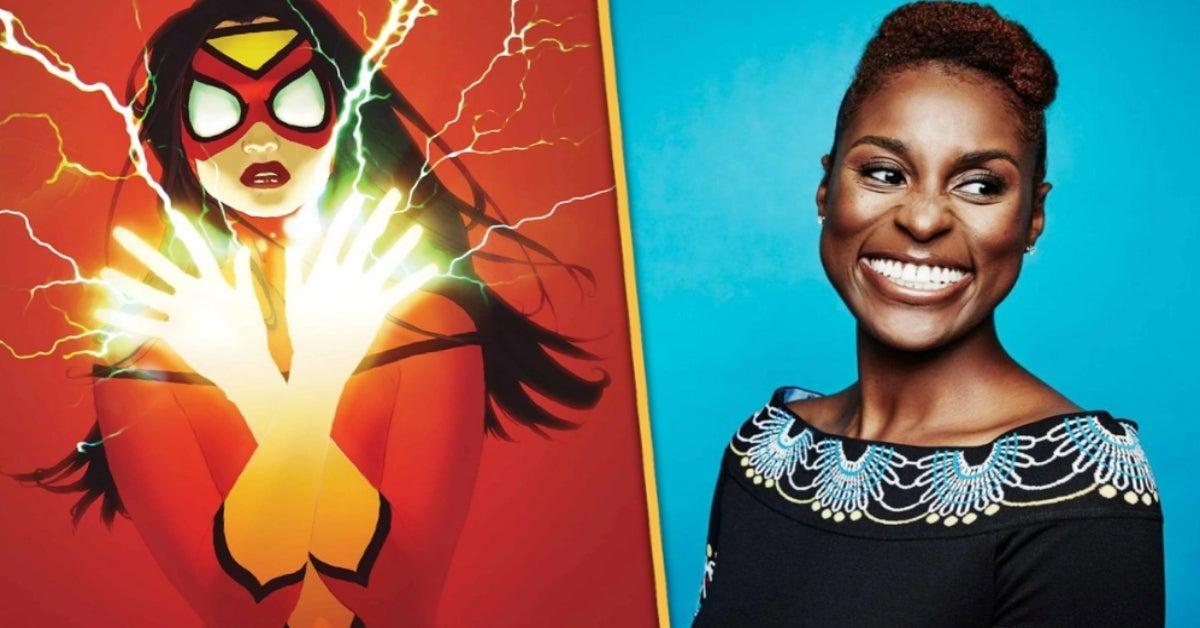 Issa Rae Jessica Drew Spider-Woman Spider-Man Spider-Verse 2