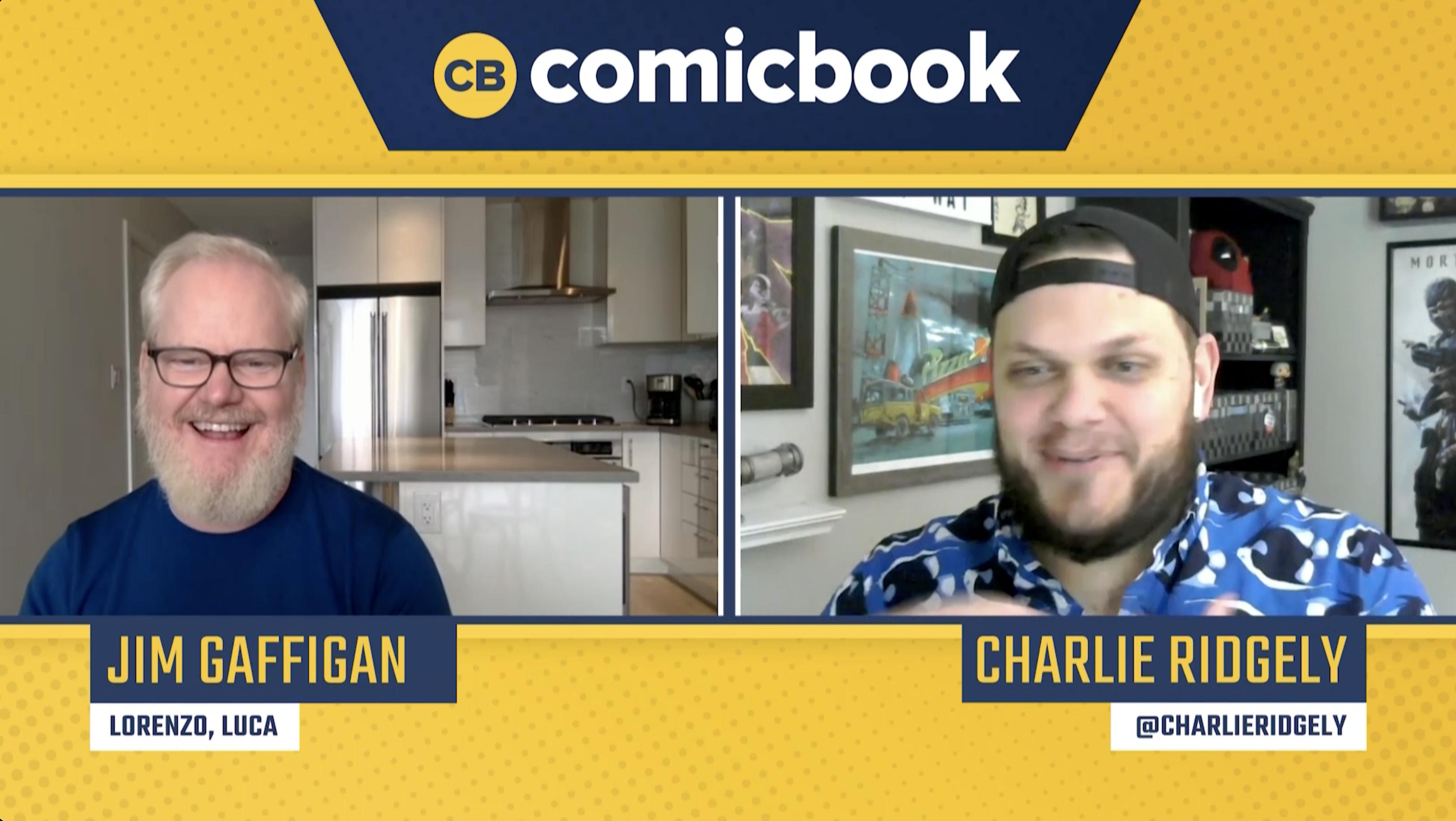 Jim Gaffigan Talks Luca - Exclusive Comicbook.com Interview