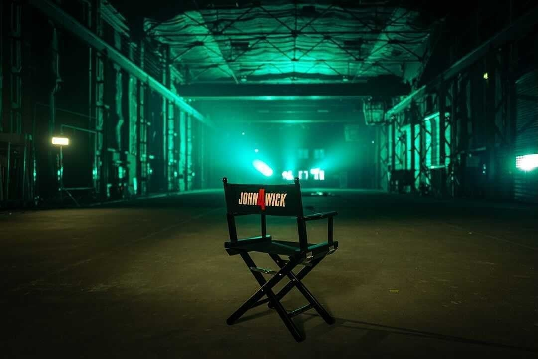 John Wick 4 Offiiallly in Production