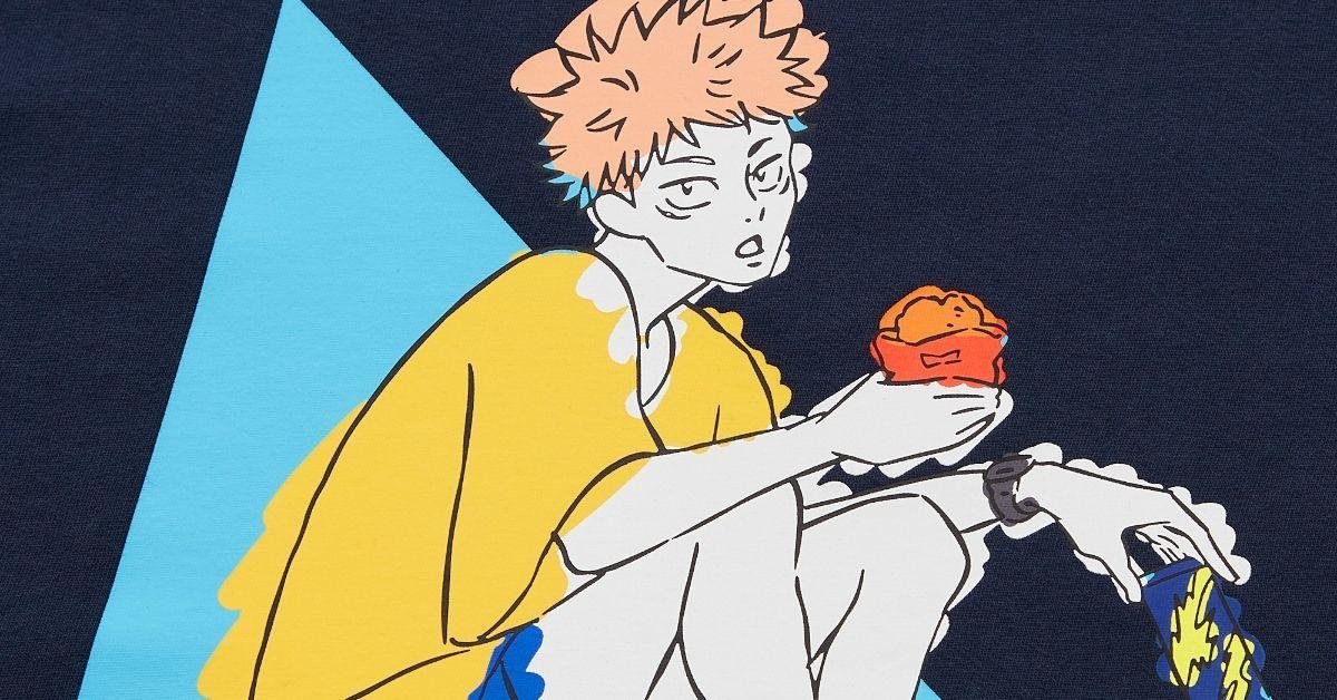 Jujutsu Kaisen x Uniqlo Anime Collection Clothing Line