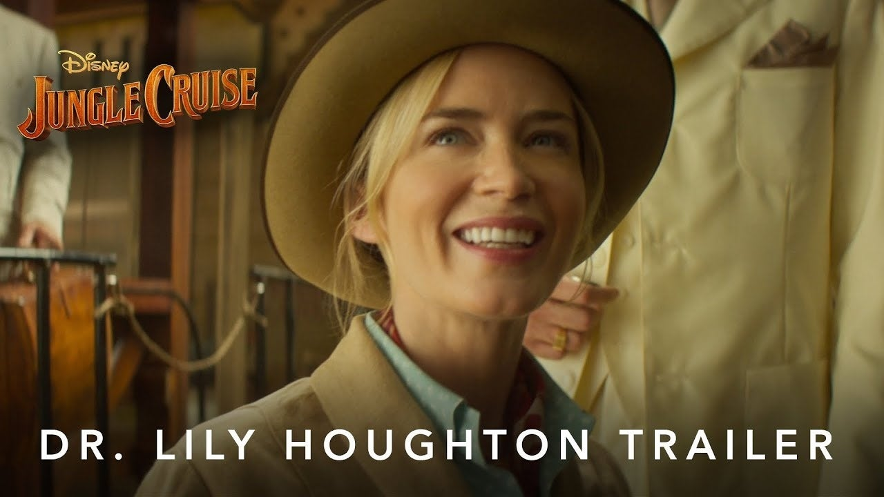 jungle cruise lily houghton