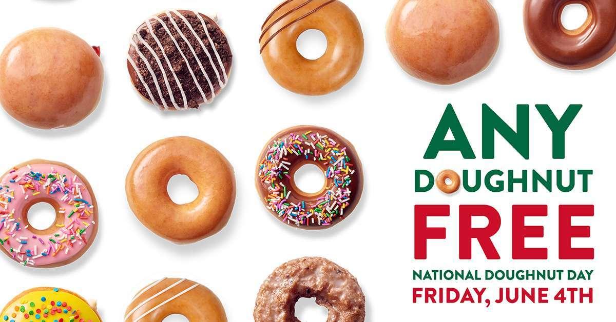 krispy kreme national doughnut day
