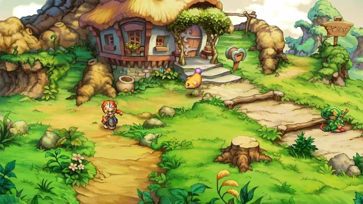 Legend of Mana Home