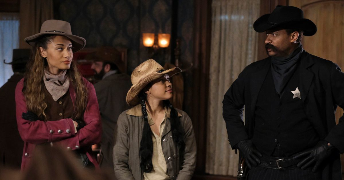 legends of tomorrow stressed western photos