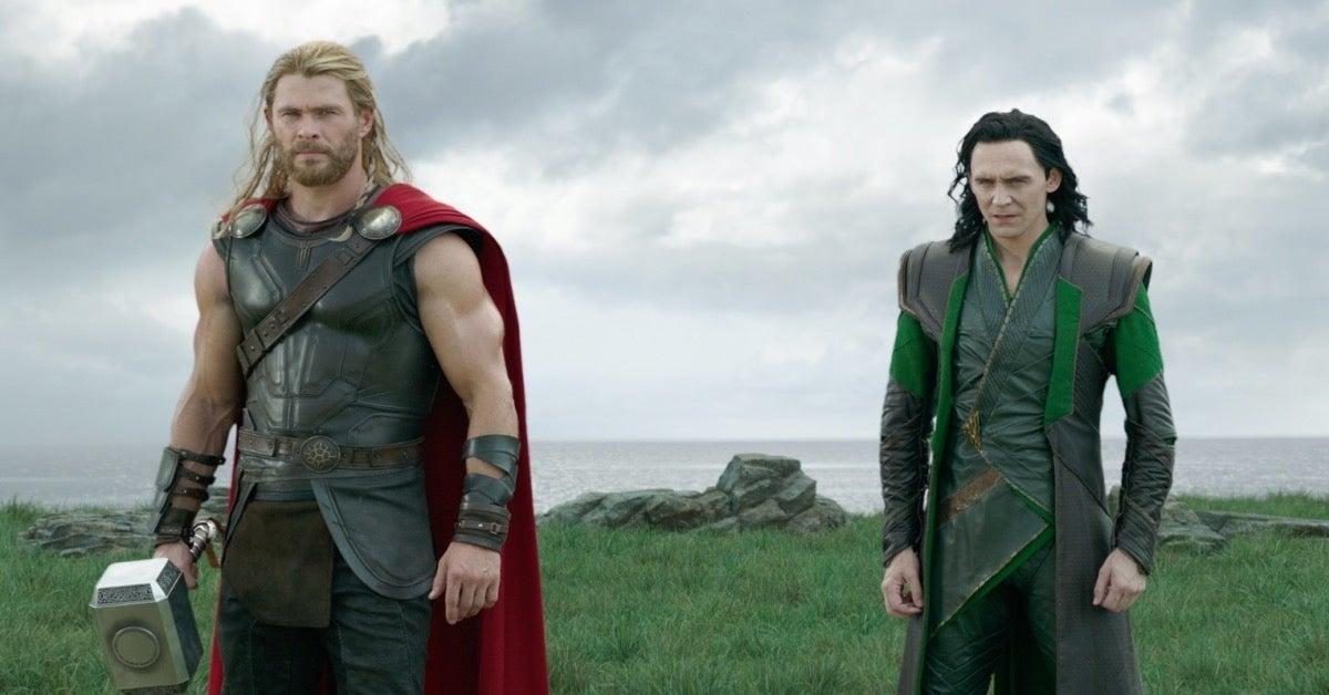 Loki and Thor Tom Hiddleston Chris Hemsworth
