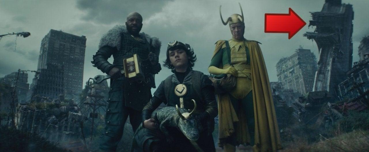 Loki End Post Credits Scene Avengers Tower Easter Egg