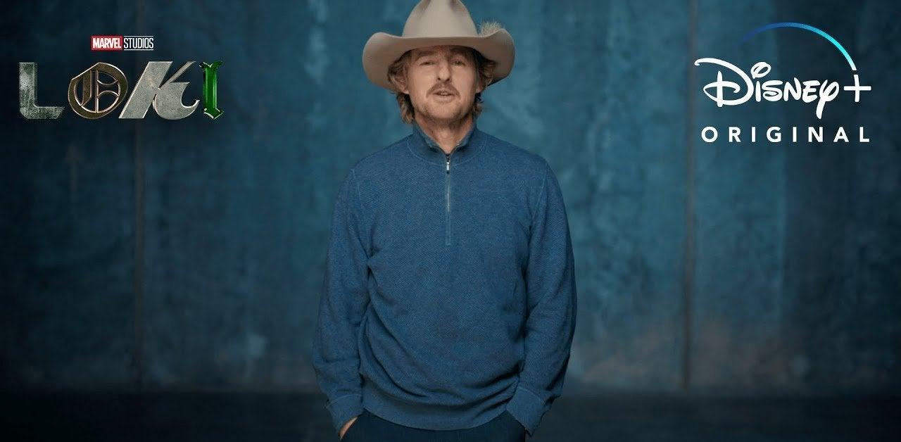 loki owen wilson cowboy hat featurette