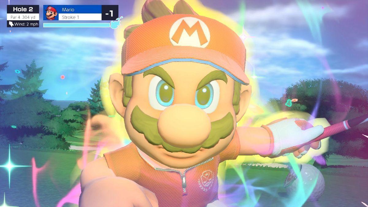 Mario Golf Super Rush Special Shot