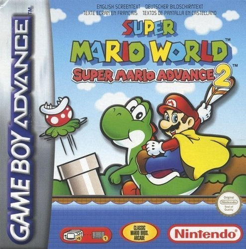 Mario World box art