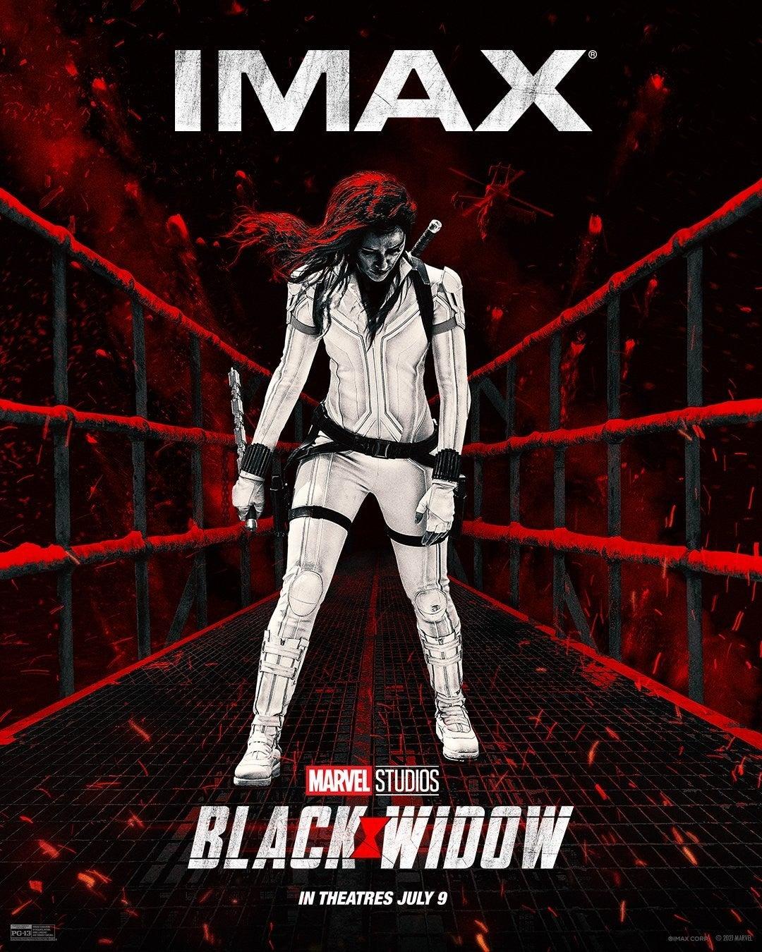 Marvel Black Widow Movie IMAX Poster