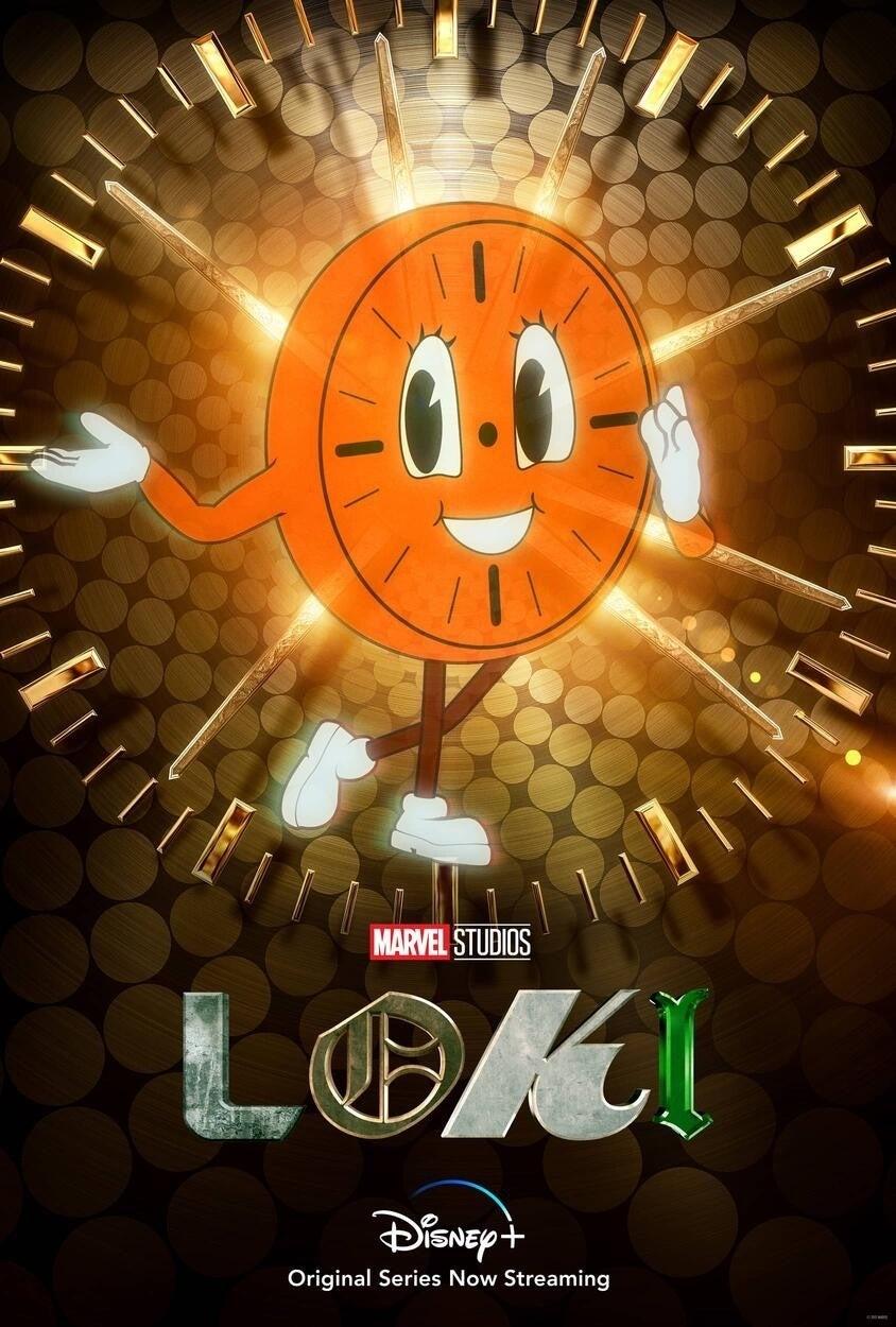 Marvel Loki Miss Minutes poster