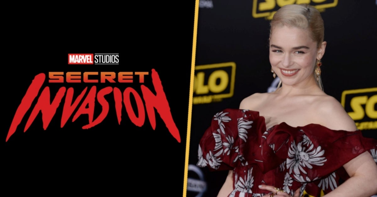 Marvel Studios Secret Invasion Emilia Clarke