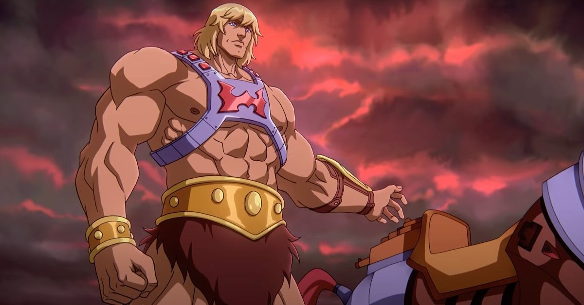 Masters of the Universe Revelation He-Man Netflix Kevin Smith