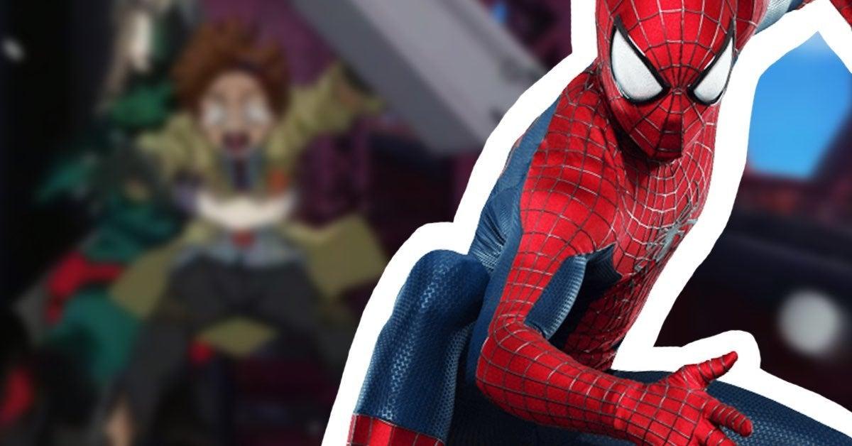 mha spider man