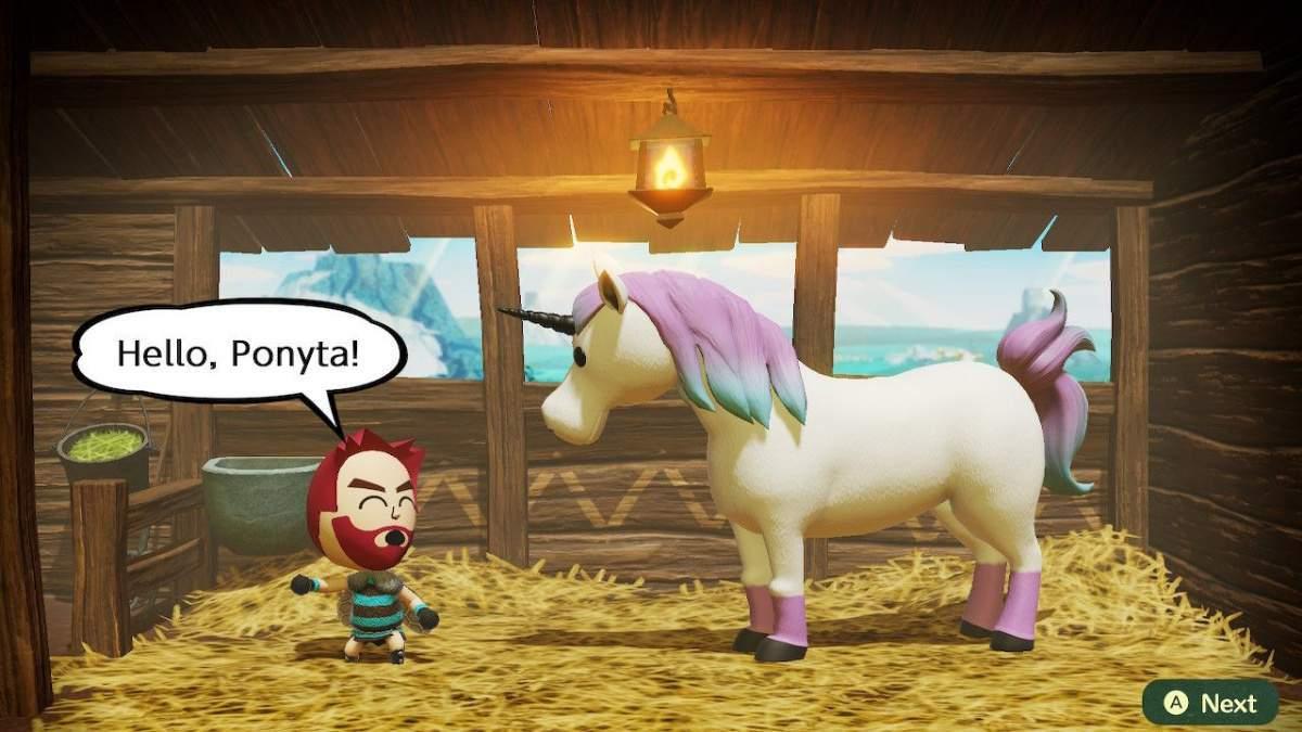 Miitopia Ponyta